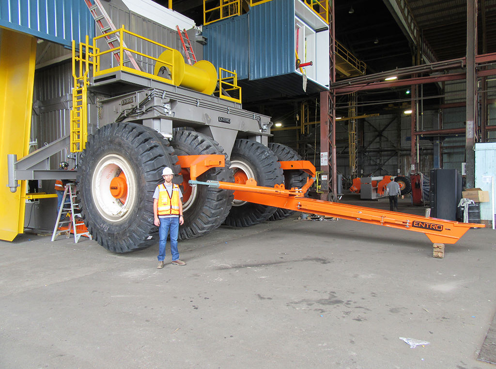 Move multi-million pound loads using Extreme Suspensions