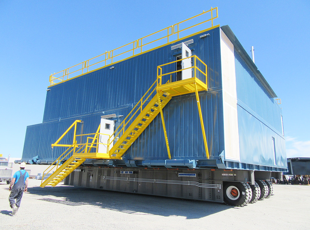 Trailers with whole-rig capacity